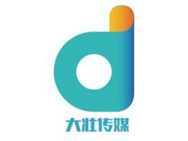 大壮传媒logo标志设计