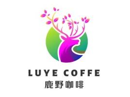 鹿咖啡店铺logo头像设计