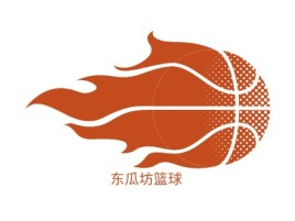 东瓜坊篮球公司logo设计