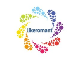 likeromant公司logo设计
