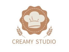 CREAMY STUDIO品牌logo设计