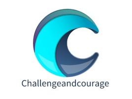 Challengeandcouragelogo标志设计