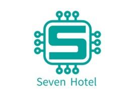 Seven Hotel公司logo设计