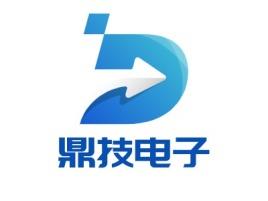 鼎技电子公司logo设计