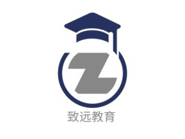 致远教育logo标志设计