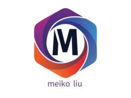 meiko liu公司logo设计