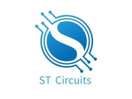 ST Circuits公司logo设计