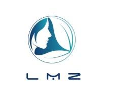 L M Z店铺标志设计