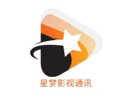 星梦影视通讯公司logo设计