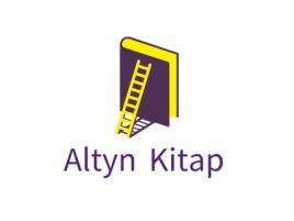 Altyn Kitaplogo标志设计