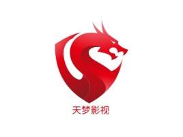 天梦影视logo标志设计