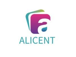 ALICENT公司logo设计
