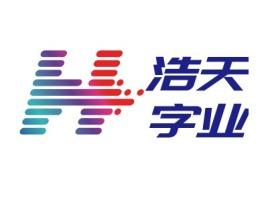浩天字业公司logo设计