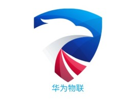 华为物联公司logo设计