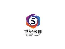 世纪米聊公司logo设计