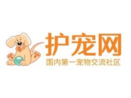 护宠网门店logo设计