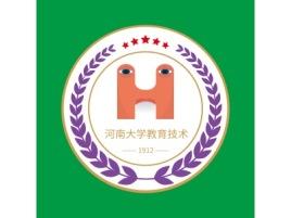 河南大学教育技术logo标志设计