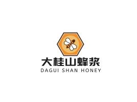 大桂山蜂浆品牌logo设计