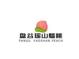 盘谷瑶山蟠桃品牌logo设计