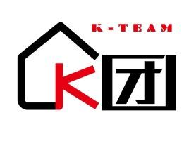 K团公司logo设计