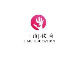 一木教育logo标志设计