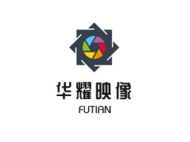 华耀映像门店logo设计
