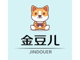 金豆儿品牌logo头像设计