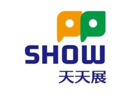 天天展logo标志设计