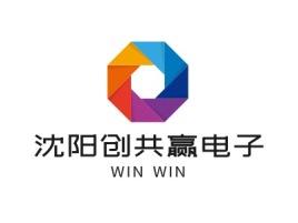沈阳创共赢电子公司logo设计