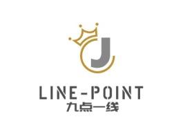 九点一线公司logo设计