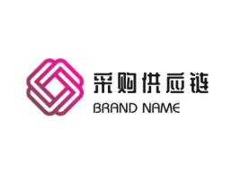 采购供应链logo徽章设计
