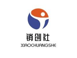 销创社logo徽章设计