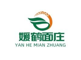 媛鹤面庄品牌logo设计