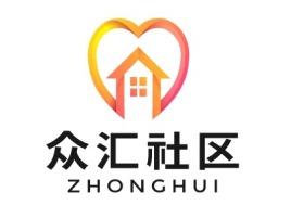 众汇社区公司logo设计