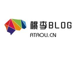 桃李blog公司logo设计