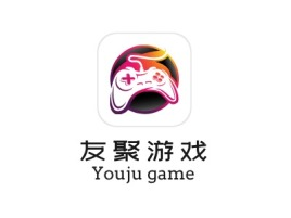 友聚游戏logo标志设计