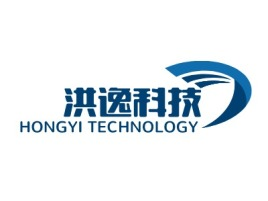 洪逸科技企业标志设计