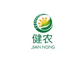 健农品牌logo设计