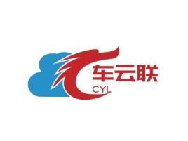 车云联公司logo设计