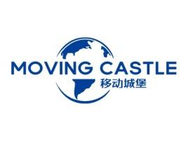 移动城堡logo标志设计