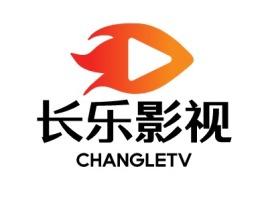 长乐影视logo标志设计