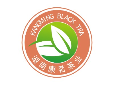 KANGMING BLACK TRALOGO设计