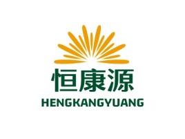 恒康源门店logo设计