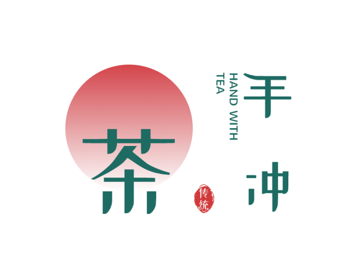 绿色创意简约餐饮logo设计