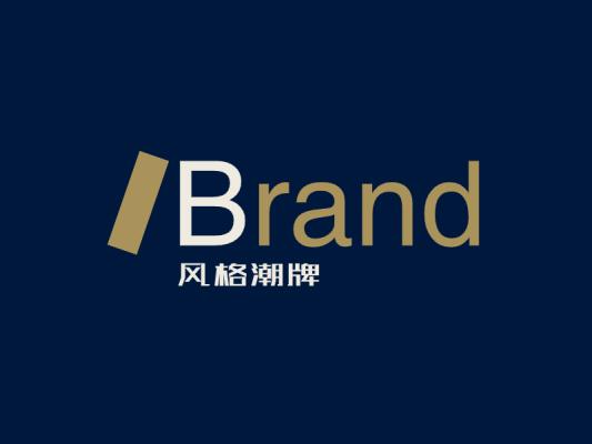 简约大气文字logo设计