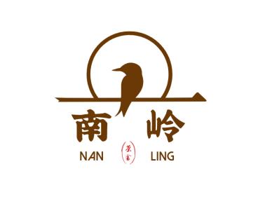中式文艺动物茶馆图标标志logo设计