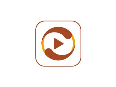 傳統簡約影視app圖標標志logo設計