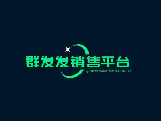 绿色网站站点平台图标标志logo设计