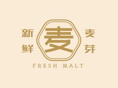 黄色中式传统文字logo