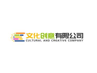 活泼彩色图文结合公司标志图标logo设计